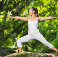Yoga - Position guerrier